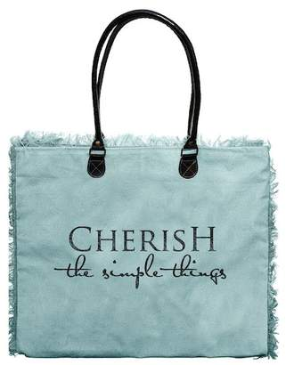 Vintage Addiction Cherish The Simple Things Market Tote
