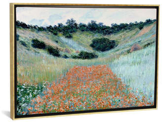 "iCanvas Poppy Field in a Hollow Near Giverny by Claude Monet Gallery-Wrapped Canvas Print - 26"" x 40"" x 0.75"""