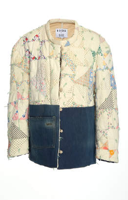 B SIDES Exclusive Quilted Cotton Jacket