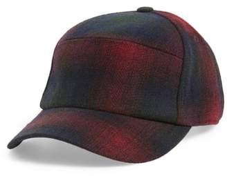 Blend of America Bailey Bernick Plaid Wool Baseball Cap