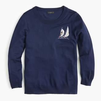 J.Crew Sailboat Tippi sweater in merino wool