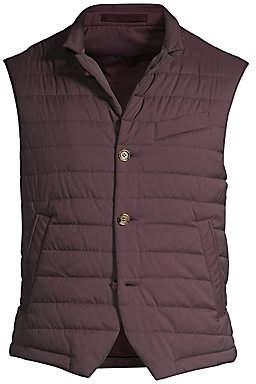 Eleventy Men's Nylon Down Puffer Vest