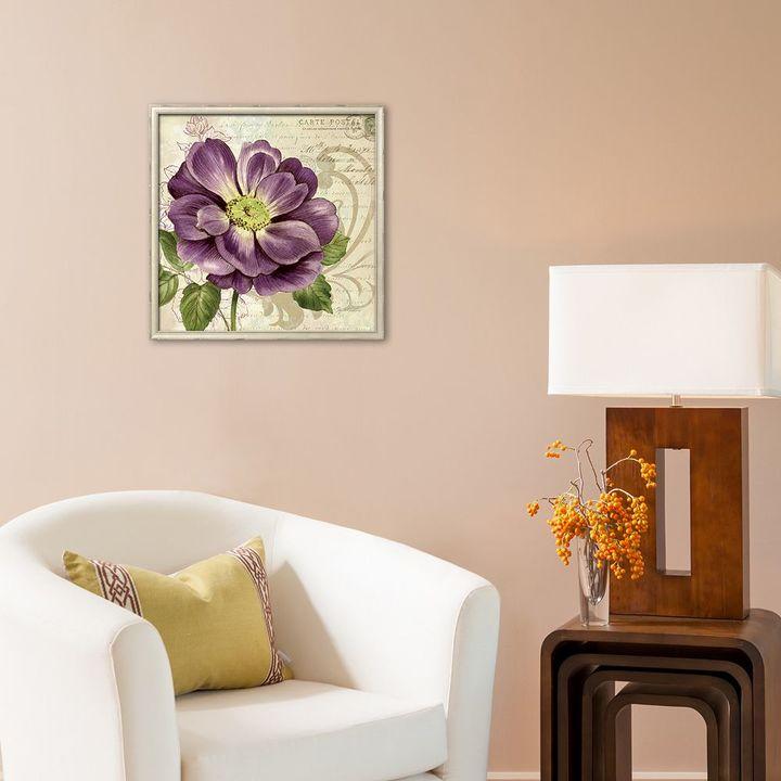 "Art.com Study in Purple I"" Framed Art Print"