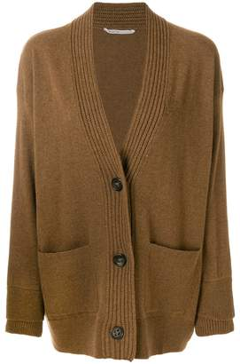Agnona v-neck button-down cardigan