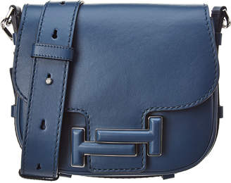 Tod's TodS Double T Leather Shoulder Bag