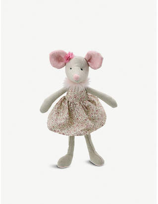The Puppet Company Mouse in a dress soft toy