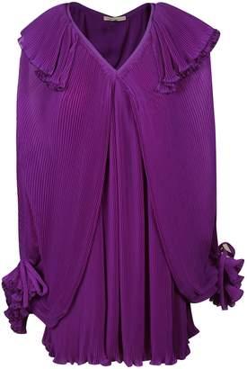 Marco De Vincenzo Knitted V-neck Dress