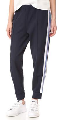 Etre Cecile Stripe Rib Cropped Track Pants