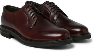 Brunello Cucinelli Cordovan Leather Derby Shoes