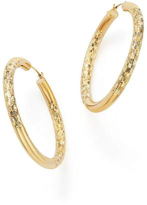 Bloomingdale's 14K Yellow Gold Round Hoop Earrings - 100% Exclusive