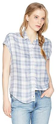 Obey Junior's Angela Oversized Button Down Shirt