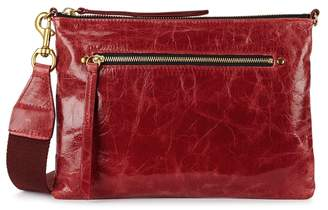 Isabel Marant Nessah Red Leather Cross