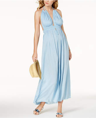 Raviya Halter Maxi Dress Cover-Up Women's Swimsuit