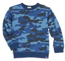 Appaman Little Boy's& Boy's Highland Camo-Print Sweatshirt