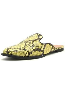 Shoe Addict Python Mule Slide