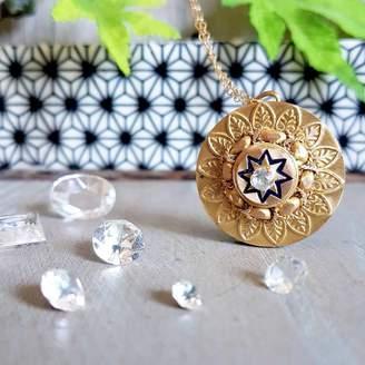Keepsake Katie Weiner Jewellery Golden Ornate Pendant