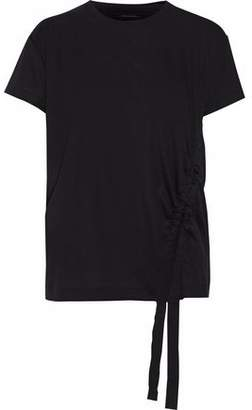 By Malene Birger Ruched Jersey T-Shirt