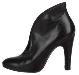 Pedro Garcia Leather Ankle Boots Black Leather Ankle Boots