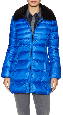 Eva Quilted Hooded Puffer Coat $158 thestylecure.com