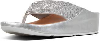 FitFlop Twiss Crystal Toe-Thongs