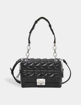 Karl Lagerfeld Mini Kuilted Flap Bag