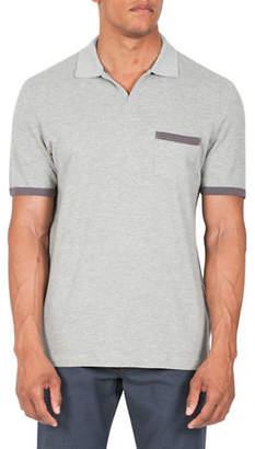Haggar HERITAGE Short Sleeve Melange Polo