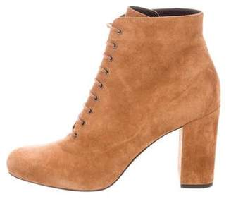 Saint Laurent Babies 90 Suede Ankle Boots w/ Tags