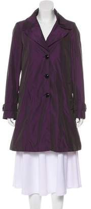 Burberry Iridescent Knee-Length Coat