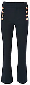 Derek Lam 10 Crosby Cropped Flare Sailor Trousers $365 thestylecure.com
