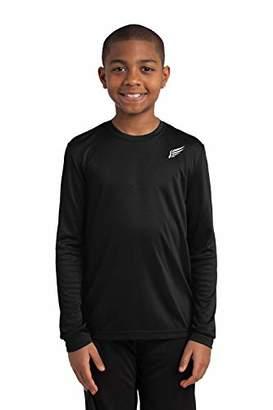 MI Falcon Boys' Full Sleeve Top Performance T-Shirt Youth Large (14-16)