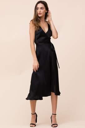 Yumi Kim City Lights Silk Midi Dress
