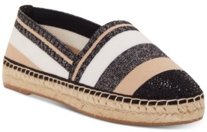 INC International Concepts I.n.c. Women's Corvina Capped-Toe Woven Espadrille Flats, Created For Macy's Women's Shoes