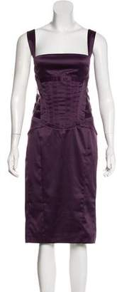 Just Cavalli Sleeveless Midi Dress w/ Tags