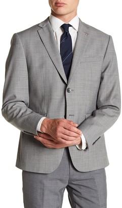 Original Penguin Notch Collar Front Button Blazer