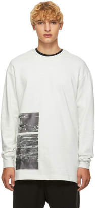Song For The Mute White Stack Pullover Sweater