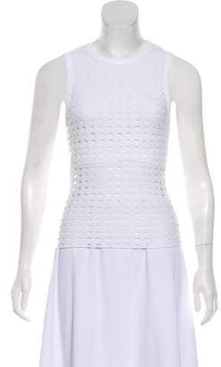 Alexander Wang Mesh Sleeveless Top