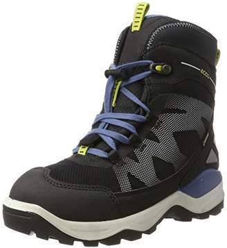 a0e831d06bca Ecco Boys   Snow Mountain Boots Titanium Black 50744