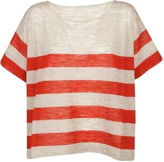 Roberto Collina Boxy Striped T-shirt