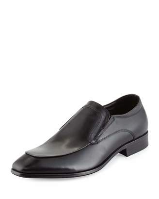 Kenneth Cole U Bet-Cha Leather Slip-On Loafer, Black $149 thestylecure.com