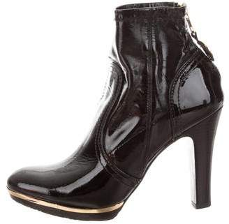 Tory Burch Melrose Patent Leather Booties