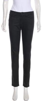 Hope Mid-Rise Skinny Jeans Grey Mid-Rise Skinny Jeans