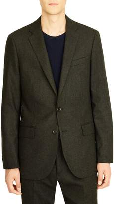 J.Crew Ludlow Slim Fit Herringbone Wool Blend Suit Jacket