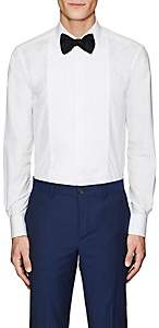 Paul Smith Men's Pleated-Bib Cotton Tuxedo Shirt - White