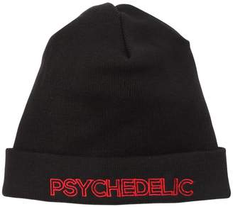 Psychedelic Wool Beanie Hat