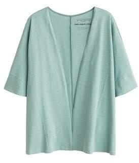Violeta BY MANGO Organic cotton cardigan