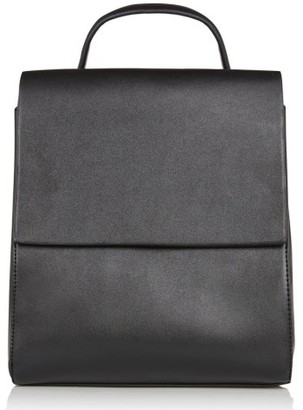 Topshop Mini Scandi Faux Leather Backpack - Black $50 thestylecure.com