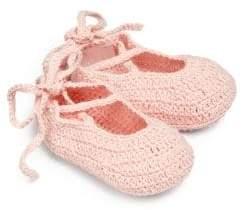 Elegant Baby Baby's Knit Ballet Booties