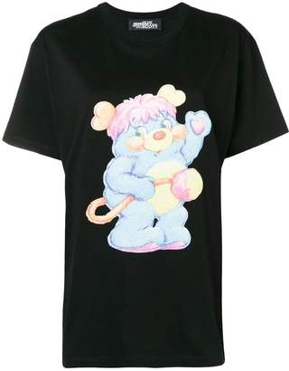Jeremy Scott bear print T-shirt
