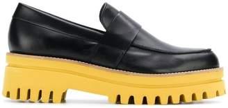 Paloma Barceló ridged platform loafers