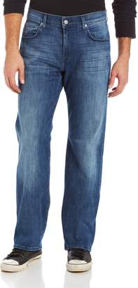 7 For All Mankind Men's Austyn Relaxed Straight Leg In Luxe Performance